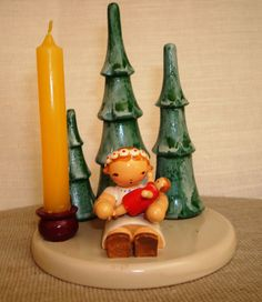 Wendt and Kuhn Candle Holder- Erzgebirge  from Germany