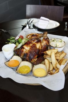 Juicy and succulent, Tanta's pollo a la brasa is one of the best versions in town.