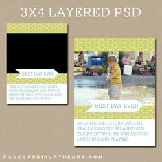 A Vegas Girl at Heart: Freebie Friday: 3x4 Layered Photo Template & A Photoshop Elements Tutorial