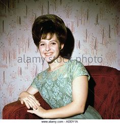 BRENDA LEE US singer here about 1960 - Stock Image