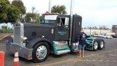 Big Rig Trucks, Semi Trucks, Cool Trucks, Peterbilt Trucks, Custom Trucks, Big Boys, Badass, Wheels, Technology