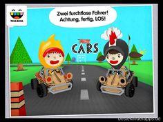 Toca Cars - iPad & iPhone Kinder App