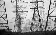 Kemah power lines by Stephen J. Alexander, via Flickr