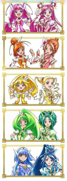 Smile Precure & Yes! Precure 5 Gogo (DO YOU NOT SEE THAT THEY ARE COPIES?!)