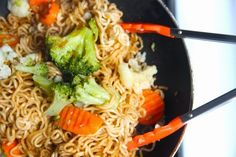 A quick + cheap dinner for two! Perfect for those on a budget, or anyone who wants to have the taste of take-out at home!