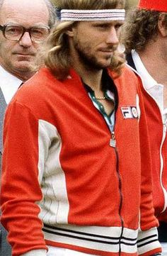 Bjorn Borg- 80's tennis hottie