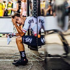 """""""Legend"""" Michal Kwiatkowski Stage 20 TT TDf2017 @cyclingimages"""