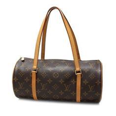Louis Vuitton Papillon 30  Monogram Handle bags Brown Canvas M51385