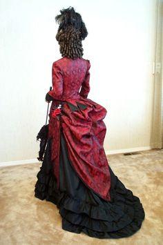 Victorian Promenade/Day Dress 1870 - 1876