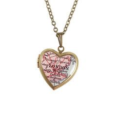 My design inspiration: London Locket Necklace on Fab.