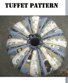This is a pattern with very detailed instructions for making a round, custom designed, heirloom tuffet that measures 18 inches in diameter. The pattern has very detailed, clear instructions for creating a master pattern diagram for an 18 inch tuffet. It contains detailed instructions that will guide you in piecing a beautiful, custom designed, round covering for your tuffet. A list of required materials is included. Step-by-step instructions with clear diagrams explain how to measure and…