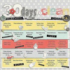 30 ideias de organização
