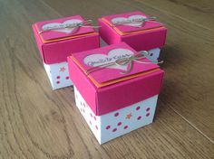 Explosionsbox, Mini explosionsbox, Verpackung, Box, Stampin Up, lovelycrafts