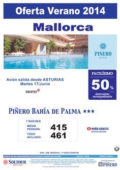 Mallorca: 50% hotel Piñero Bahía de Palma salidas desde Asturias ultimo minuto - http://zocotours.com/mallorca-50-hotel-pinero-bahia-de-palma-salidas-desde-asturias-ultimo-minuto/