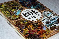 Maluszkowe inspiracje: Rok w lesie - jedna z najpiękniejszych książek obr...
