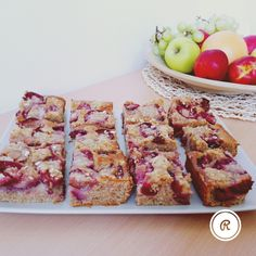 ® plum cake with crumble..!