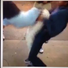 0When white girls see black girls dance.