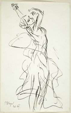 The Dance by John Singer Sargent~