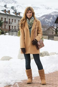 uggs-and-camel-trench-coat