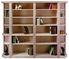 "Unfinished Furniture options - the ""Carmine"" Bookcase Concept. www.derbyshires.com #bookcase #furniture"