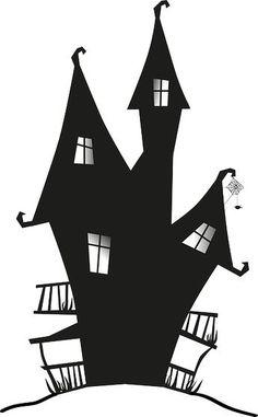 Scherenschnitt Hexenhaus - Schauriges ganz furchtlos basteln: http://babyduda.com/scherenschnitte-und-schattenbilder-mit-hexenmotiven-walpurgisnacht/