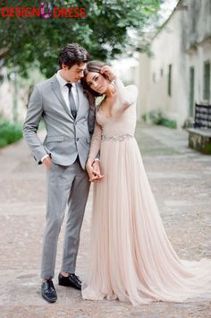 Find More Prom Dresses Information about Design U Dress Romantic Peach Pink 2017 Vintage Sexy V Neck Long Sleeves Sheer Lace Crystal Belt Formal Evening Prom Dress,High Quality dress up games dress up,China dress with belt Suppliers, Cheap dress sleep from Rainbow Wedding Store on Aliexpress.com