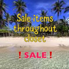 Summer Clearance Sale PLEASE READ  We have dropped our prices on summer items to the lowest so that they move quickly and prices are FIRM - bundle 3 or more and get the bundle discount❗️   💝  ENJOY 🙃 Other