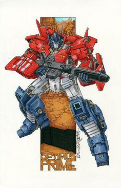 the best looking Optimus I've seen so far *markerguru on deviantART