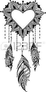 Find Handdrawn Heart Mandala Dreamcatcher Feathers Ethnic stock images in HD and millions of other royalty-free stock photos, illustrations and vectors in the Shutterstock collection. Dream Catcher Coloring Pages, Dream Catcher Drawing, Dream Catcher Mandala, Feather Dream Catcher, Mandala Tattoo Design, Mandala Drawing, Tattoo Designs, Henna Heart, Ethnic Tattoo