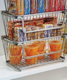 Look what I found on #zulily! Silver York Lyra 12'' Open Basket #zulilyfinds