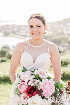 A joyful St Leonards & North Head wedding, including orchard bridal portraits. Anna, November 2019, Bridal Portraits, Joyful, One Shoulder Wedding Dress, Wedding Photography, Bride, Wedding Dresses, Fashion