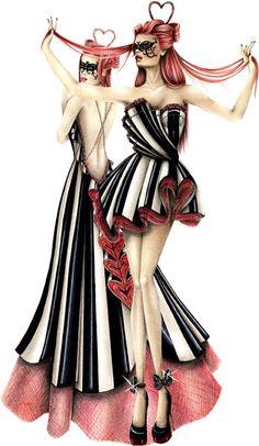 Best fashion design of October 2012 by Teresa Orecchio :: Istituto di Moda Burgo