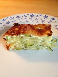 Mille feuilles de courgettes et de pommes de terre au chèvre - tambouilleatiti.over-blog.com