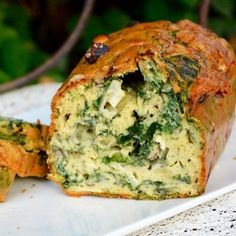 Cake au fromage de chèvre, noisettes et épinards : 35 recettes au fromage de chèvre - Journal des Femmes