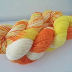 "We can't wait for the super spooky stripey update on 9/1! This is the ""Candy Corn"" that we've mentioned before! And don't forget to use the coupon code MAKEROOM15 today and tomorrow to save 15% on your order! Happy Knitting! www.knitmona.etsy.com"