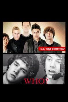 LOL...excuse me who is this... and Im American...<<<<<<  They look like a sad(der) version of The Wanted