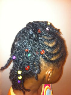 Daughter's hair by me:)