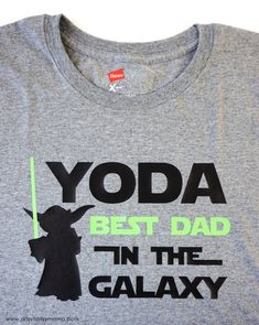 Yoda Father's Day Shirt | artsy-fartsy mama