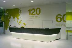 Office Reception (Austria Tabak / Japan Tobacco International, Vienna, Austria)