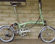 Brompton M6LX Sage Green