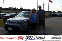 https://flic.kr/p/LfdAeX | Happy Anniversary to Stanley on your #Kia #Soul from Ash Chowdhury at Southwest Kia Mesquite! | deliverymaxx.com/DealerReviews.aspx?DealerCode=VNDX