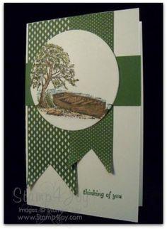 Thinking of You Card Moon Lake - blog.Stamp4Joy.com