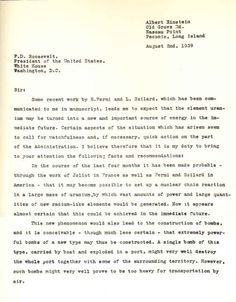 Why Did Albert Einstein Write A Letter To President Roosevelt - Best opinion 32 President, President Roosevelt, Eleanor Roosevelt, Statistical Mechanics, Theoretical Physics, Theory Of Relativity, Isaac Newton, August 2nd