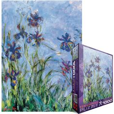 Amazing graphics and images make these puzzles true works-of-art. With pictures ranging from classical artwork and nature scenes to more contemporary and casual designs there is sure to be a puzzle for everyone! Puzzle contains 1000 pieces.