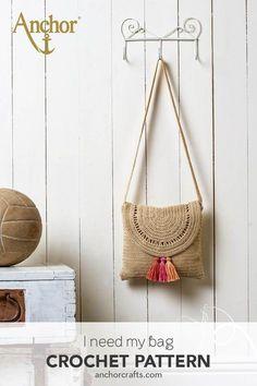 Bag Crochet, Crochet Clutch, Crochet Shoes, Crochet Purses, Crochet Motif, Crochet Crafts, Crochet Clothes, Crochet Stitches, Crochet Projects