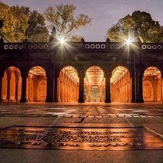 """what_i_saw_in_nyc: """"Photo by @newyorkcitykopp  #bethesdaarcade  #newyork  #what_i_saw_in_nyc  #centralpark  #manhattan  #nyc #newyorkcity ============================"""""""