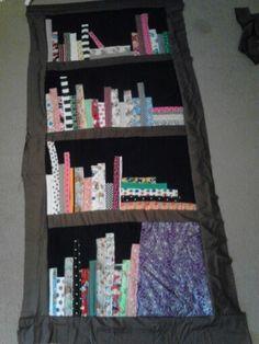 Top to bookshelf quilt