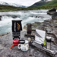 Down by the river the Aeropress is prefect for the outdoors & the office! Brew on! Shop NOW  @originalaeropress Link in Bio  by @dcily by originalaeropress