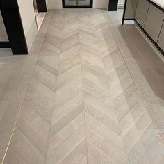 Herringbone Tile Floors, Wood Tile Floors, Flooring, Chevron Tile, Chevron Floor, Floor Design, Tile Design, Master Bedroom Interior, Luxury Homes Interior