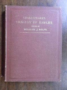 Shakespeare ~ Tragedy of Hamlet, Prince of Denmark ~ 1885 ~ Harper & Brothers ~